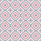 Mandala Pattern Blue Background compleja Fotografía de archivo libre de regalías