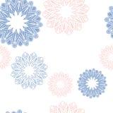 Mandala Pattern Décoratif ethnique tiré par la main Illustration Libre de Droits