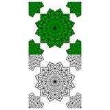 Mandala Pattern Lace 02 vector illustration