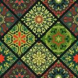 Mandala Pattern floral Imagen de archivo