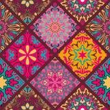 Mandala Pattern floral Foto de archivo libre de regalías