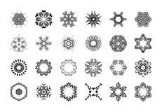 Mandala Pattern floral Forma inusual de la flor Fotos de archivo libres de regalías