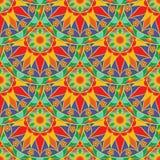Mandala Pattern florale sans couture Photographie stock