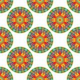Mandala Pattern florale sans couture Photographie stock libre de droits