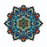 Mandala pattern flower vector. Royalty Free Stock Photos