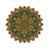 Mandala pattern flower vector. Stock Photo