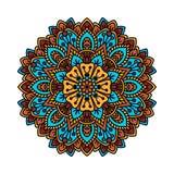 Mandala pattern flower vector. Stock Photos