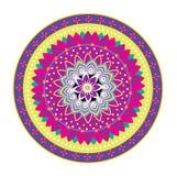 Mandala Pattern Icon Fotografie Stock Libere da Diritti