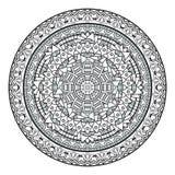 Mandala Pattern Illustration décorative Image libre de droits