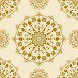 Mandala Pattern Image de vecteur Image stock