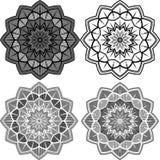 Mandala Pattern Lace royalty free illustration