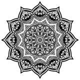 Mandala Pattern Lace 05 stock illustratie