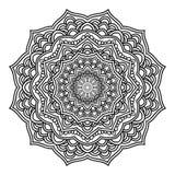 Mandala Pattern Lace 04 illustration de vecteur