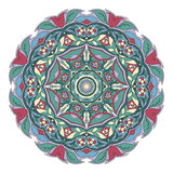 Mandala Pattern Ornamento redondo para su creatividad Fotografía de archivo