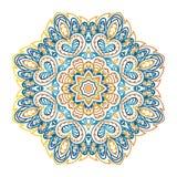 Mandala Pattern Ornamento redondo para su creatividad Foto de archivo