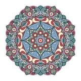 Mandala Pattern Ornamento redondo para su creatividad Imagen de archivo