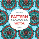 Mandala  pattern for printing on fabric or paper. Islam, Arabic, Indian, ottoman motifs. Mandala  pattern for printing on fabric or paper. Islam, Arabic ottoman Royalty Free Stock Photo