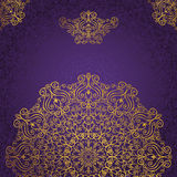 Mandala Pattern Remous, renaissance, origine ethnique or Photographie stock