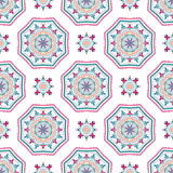 Mandala Pattern Tile Background complexe Photos libres de droits