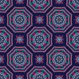 Mandala Pattern Tile Background complexe Image stock