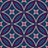 Mandala Pattern Tile Background complexe Photos stock