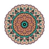 Mandala Pattern Vintage étnico Fotografía de archivo libre de regalías