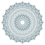 Mandala Pattern Vintage étnico Fotos de archivo