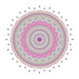 Mandala Pattern Vintage étnico Imagen de archivo libre de regalías