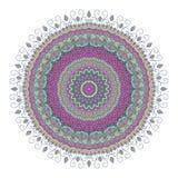 Mandala Pattern Vintage étnico Fotografía de archivo