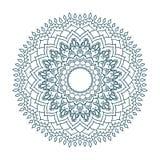 Mandala Pattern Vintage étnico Foto de archivo
