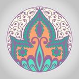 Mandala Pattern Vintage ethnique Photographie stock libre de droits