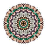 Mandala Pattern Vintage ethnique Photo stock