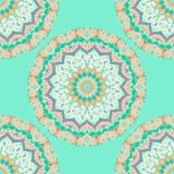 Mandala Pattern Vintage ethnique Images libres de droits