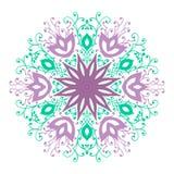 Mandala Pattern Vintage ethnique Image libre de droits