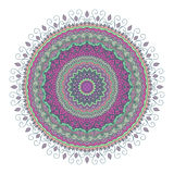 Mandala Pattern Vintage ethnique Photographie stock