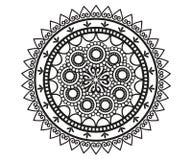 Mandala per hennè, Mehndi, tatuaggio, decorazione royalty illustrazione gratis