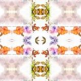 Mandala Pink vektor illustrationer