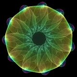 Mandala plasmática Imágenes de archivo libres de regalías