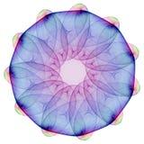 Mandala plasmática Fotografia de Stock Royalty Free