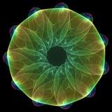 mandala plazmatyczny Obrazy Royalty Free