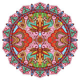Mandala, plemienny etniczny ornament, wektor islamski Obrazy Stock