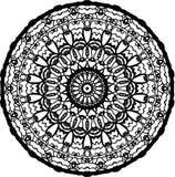 Mandala profunda del ojo del alma stock de ilustración