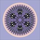 Mandala projekt Obrazy Royalty Free