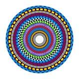 Mandala psicadélico Fotografia de Stock Royalty Free