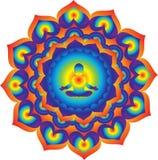 mandala Puissance et énergie Photo libre de droits
