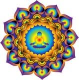 mandala Puissance et énergie Images stock