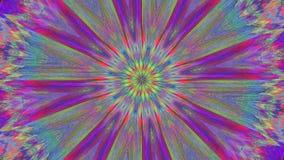 Mandala rocznika magiczny hipnotyczny migocący tło ilustracja wektor