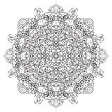 mandala Rond ornament Royalty-vrije Stock Fotografie