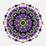 mandala Rond Ornamentpatroon Uitstekende decoratieve elementen Vector illustratie Royalty-vrije Stock Foto