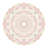 Mandala rose Photographie stock